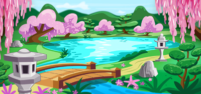 illustration of Background art for video game app