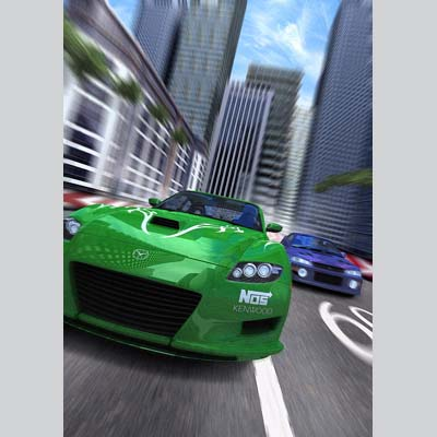 illustration of Photomanipulation, Background Art, Point of Sale, Photorealistic, Video Games, Boys