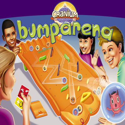 illustration of Bumparena toy packaging illustration