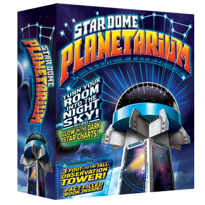 illustration of Photoshop illustration for a Stardome Planetarium toy.