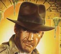 illustration of Proposed DVD cover illustration for latest Indiana Jones film.
