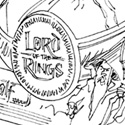 "illustration of ""The Lord of The Rings"" package structure design concepts for Marvel Entertainment, Inc./New Line Cinema."