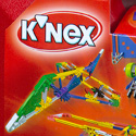 illustration of K'NEX Case Sets package design system for K'NEX Industries, Inc.
