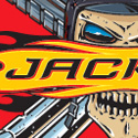 "illustration of ""Jacked"" logo design for The 3DO Company."