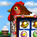 illustration of Golden Egg Video Slots Game. 3D Modelling & Artwork.
