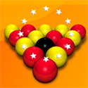 illustration of Bankshot Billiards Game Selection. UI Design, Illustrations, 3D Modelling