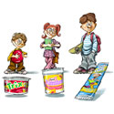 illustration of Illustration, Character Development, Early Childhood, School Age, Tweens