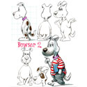 illustration of 2D, Illustration, Character Development, Animals, Humorous, Early Childhood, School Age, Tweens