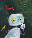 illustration of Humorous, Robots, Early Childhood, School Age