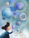 illustration of Sci-Fi / Fantasy, Girls, Early Childhood, School Age, Tweens