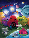 illustration of Animals, Sci-Fi / Fantasy, Early Childhood, School Age, Tweens