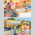 illustration of 2D, Illustration, Character Development, Early Childhood, School Age, Tweens