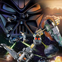 illustration of Lego Systems' Star Wars poster