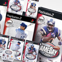 illustration of Branding and packaging design for Sony's 989 Sports video game line