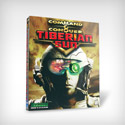 illustration of Packaging design for Westwood Studios' Command & Conquer Tiberian Sun video game