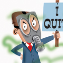illustration of I Quit