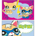 illustration of Littlest Pet Shop illustrations for Comic Con exclusive.