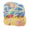 illustration of girl. little girl, dance, dancing, stage, clapping, applause, happy, humour,